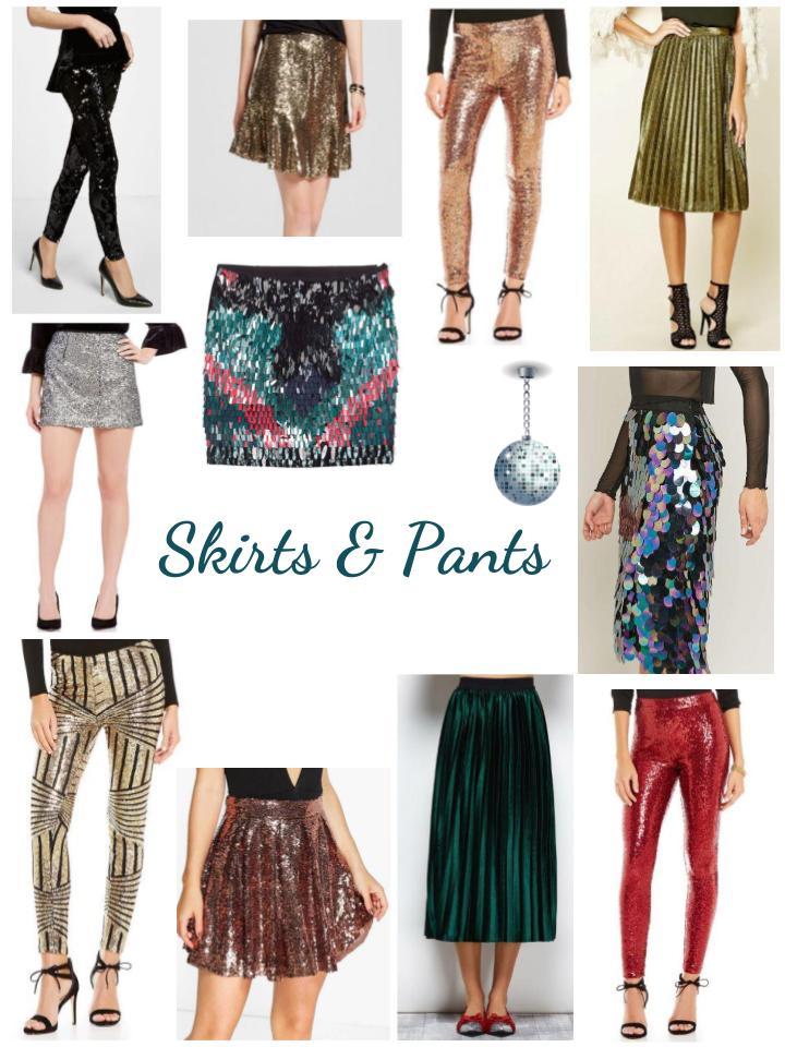 NYE Skirts & Pants