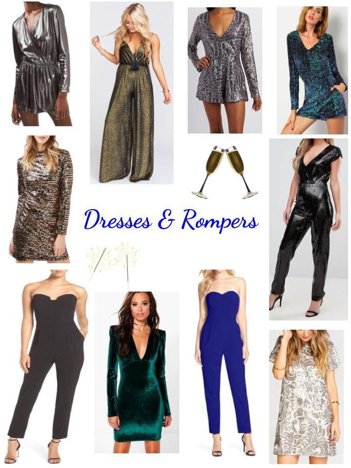 NYE Dresses & Rompers