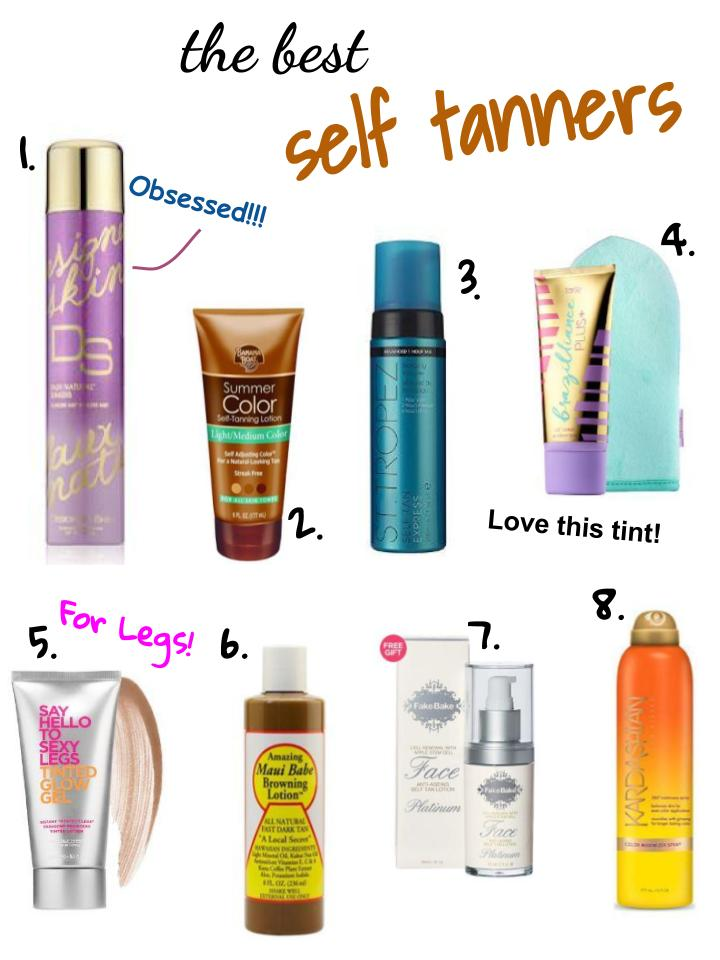 the best self tanners