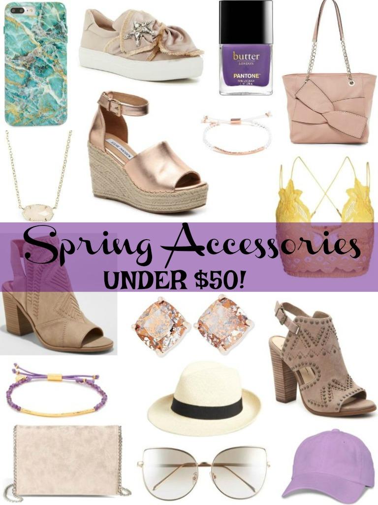 Spring Accessories Under $50! Kingdomofsequins.com