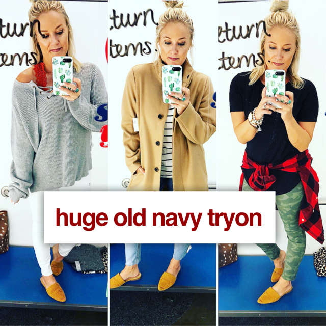 Old Navy Sales This Weekend: HUGE Old Navy Fall Try-On Haul