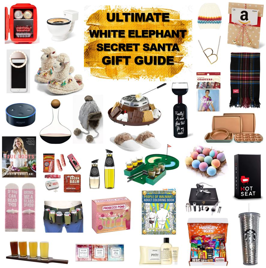 about White Elephant/Secret Santa Gift Guide  sc 1 st  Kingdom of Sequins & white elephant gift guide | KingdomofSequins